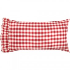 Annie Buffalo Red Check King Pillow Case Set
