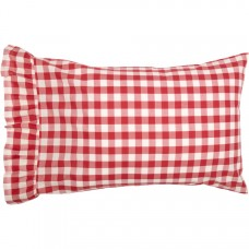 Annie Buffalo Red Check Standard Pillow Case Set