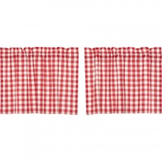 Annie Buffalo Red Check Tier Set