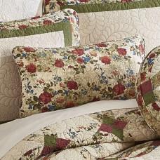 Antique Rose Wedding Ring Rectangle Pillow