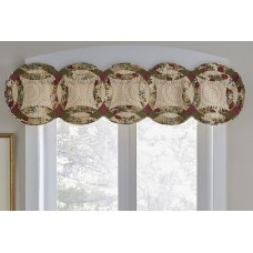 Antique Rose Wedding Ring Valance