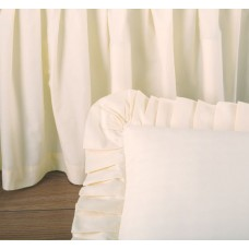 Cream Bed Skirt