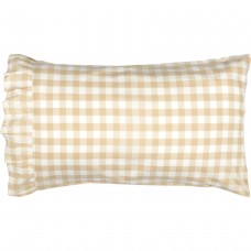 Annie Buffalo Tan Check Pillow Case Set