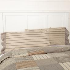 Sawyer Mill Charcoal King Pillow Case Set