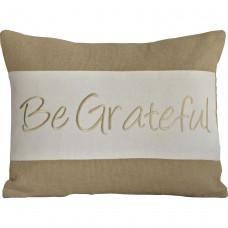 Be Grateful Pillow