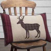 Wyatt Deer Applique Pillow