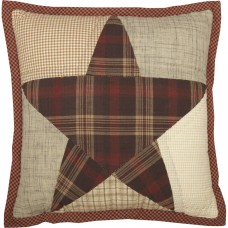 "Abilene Star Quilted 12"" Pillow"