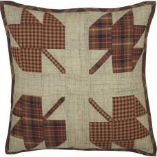 Abilene Harvest Leaf Patch Pillow