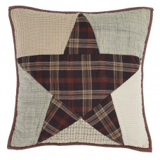 "Abilene Star Quilted 16"" Pillow"