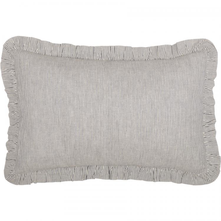 Bedding Vhc Farmhouse Bed Skirt Dakota, Farmhouse Blue Ticking Bedding