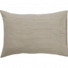 Kendra Black Stripe Pillow Case Set