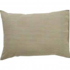 Kendra Green Stripe Pillow Case Set