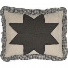 Liberty Stars Ruffled Pillow