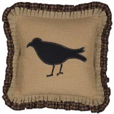 Primitive Crow Pillow