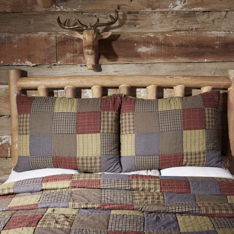Cedar Ridge Quilt Set By Vhc Brands