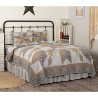 Dakota Star Farmhouse Blue Quilt