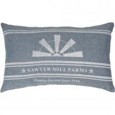 Sawyer Mill Blue Windmill Blade Pillow