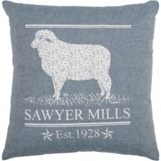 Sawyer Mill Blue Lamb Pillow