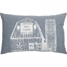 Sawyer Mill Blue Barn Pillow