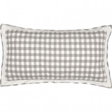 Annie Buffalo Grey Check Luxury Sham