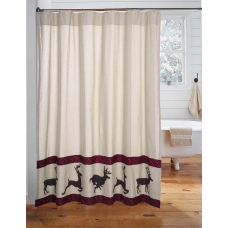 Wyatt Deer Shower Curtain