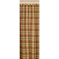 Saffron Shower Curtain