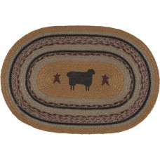 Heritage Farms Sheep Jute Placemat Set of 6