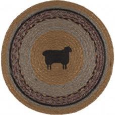 Heritage Farms Sheep Jute Tablemat Set of 6