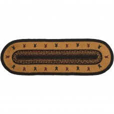 Heritage Farms Star Jute Table Runner