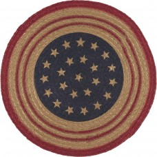 Liberty Stars Flag Jute Tablemat Set of 6