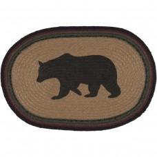 Wyatt Bear Jute Placemat Set