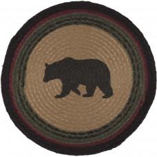 Wyatt Bear Jute Tablemat Set of 6
