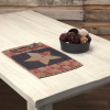 Arlington Quilted Patchwork Star Placemat Set