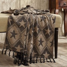 Jefferson Star Chenille Woven Throw