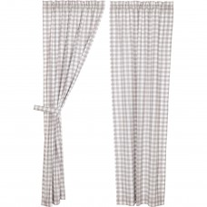 Annie Buffalo Grey Check Panel Set
