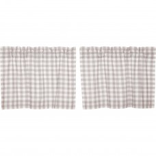 Annie Buffalo Grey Check Tier Set