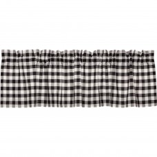 Annie Buffalo Black Check Valance 60""
