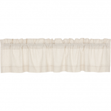 Simple Life Flax Natural Valance 72""