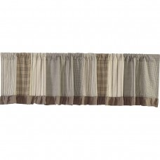Sawyer Mill Patchwork Valance 90""