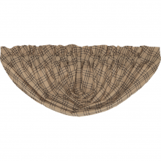 Sawyer Mill Charcoal Plaid Balloon Valance