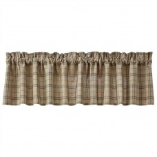 Fieldstone Plaid Black Valance