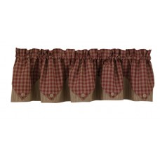 Sturbridge Wine Point Valance