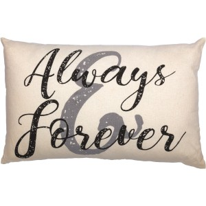 Casement Natural Always and Forever Pillow