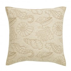 Atlantis Seashore Quilted Euro Sham