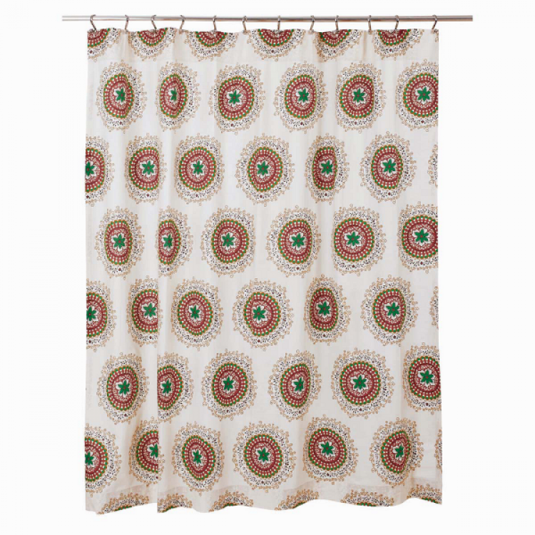 Bermuda Shower Curtain By VHC Brands