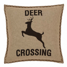 Dawson Star Deer Crossing Pillow