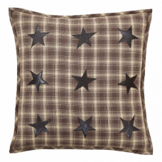 Dawson Star Applique Pillow