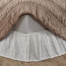 Willow White Bed Skirt