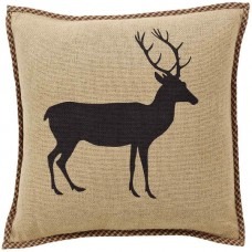 Barrington Burlap Buck Pillow