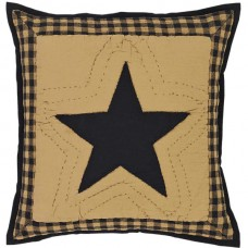 Delaware Star Quilted Pillow